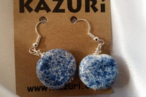 Kazuri - Deepwater - Earrings - Hook Smartie - Spo (9)