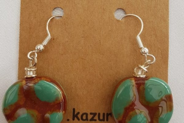 Kazuri - Alpine Hook Earrings
